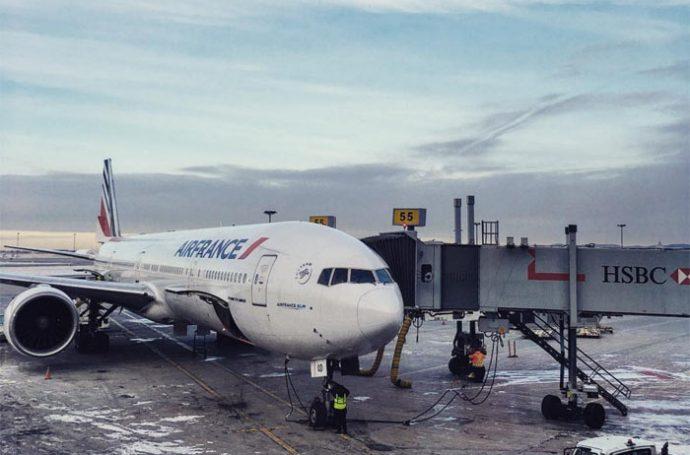 avion air france aux usa
