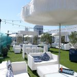 Boxwood On The Roof restaurant avec vue incroyable sur Los Angeles