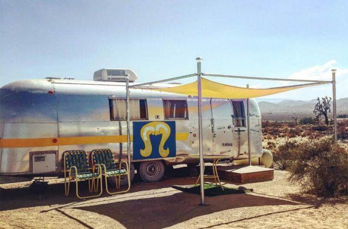 caravane en californie