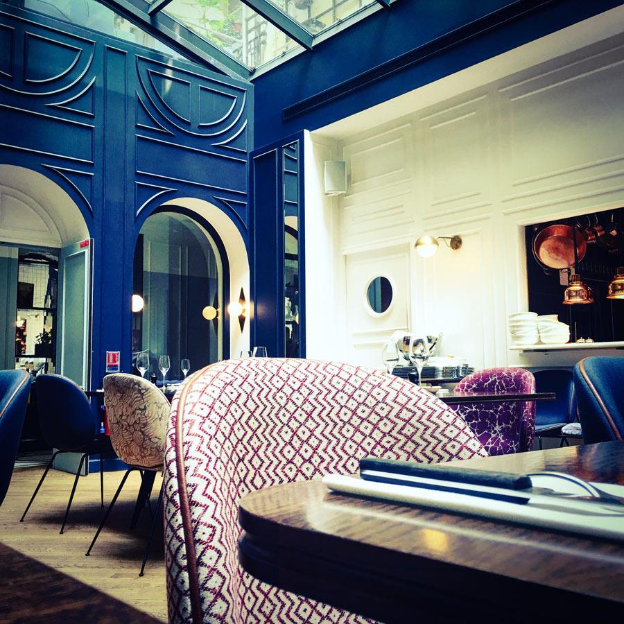 h tel bachaumont petit d jeuner d jeuner et brunch la parisienne. Black Bedroom Furniture Sets. Home Design Ideas
