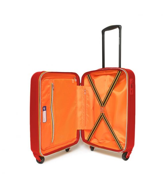 Valise cabine K-Way rouge