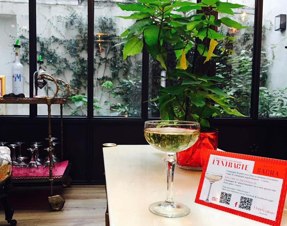 Bar de l'Hôtel Sacha à Paris 9