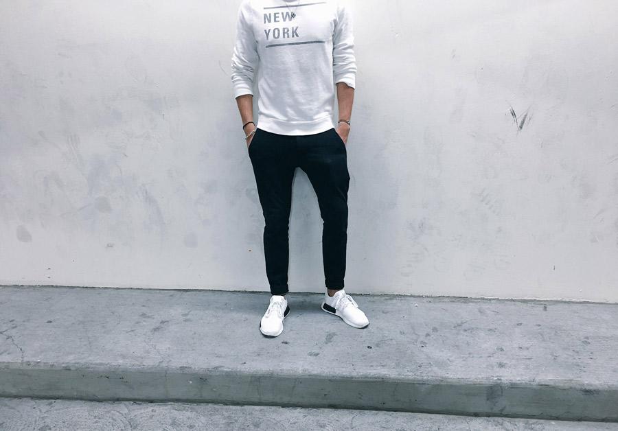 Look Reead en Adidas NMD