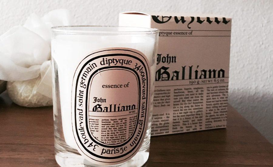 Bougie John Galliano par Diptyque