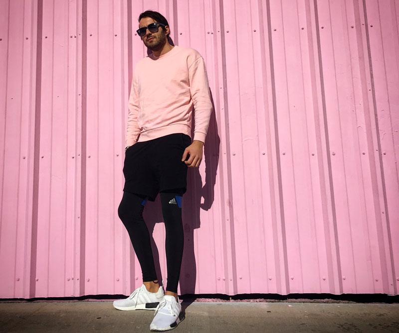 Reead en Adidas NMB