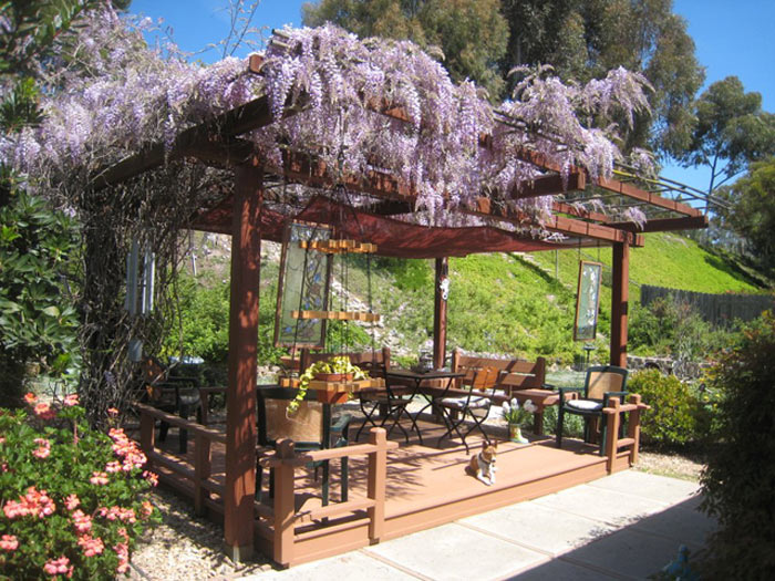 5 id es d co pour am nager son jardin de fa on originale for Pergola originale