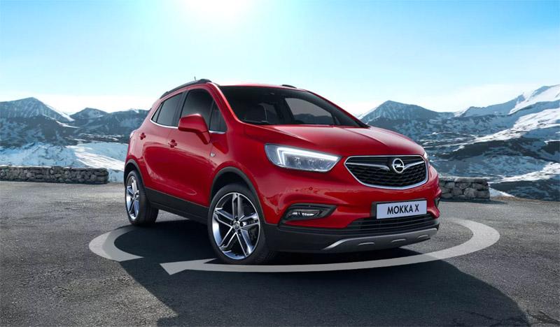 Opel Mokka X rouge