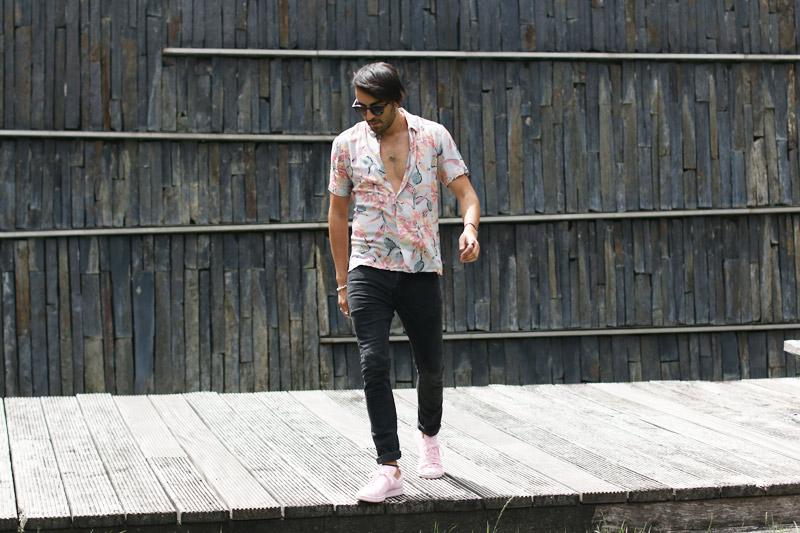 look jean slim homme