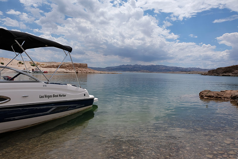 Lake Mead Boat