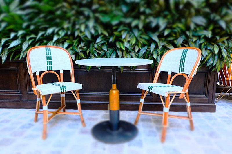 terrasse restaurant rivié