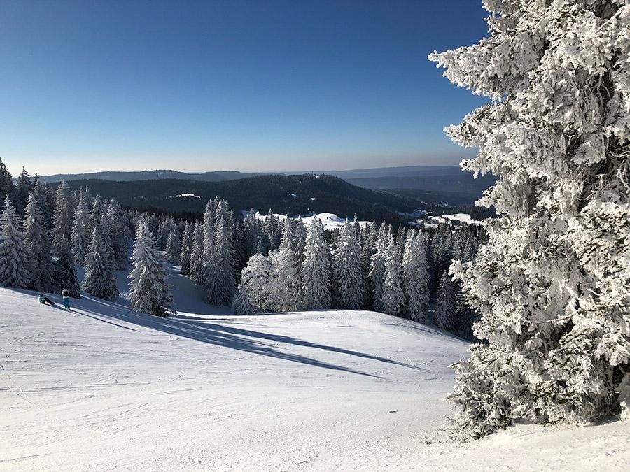 Ski à la montage