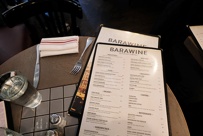Brunch in Harlem at Barawine
