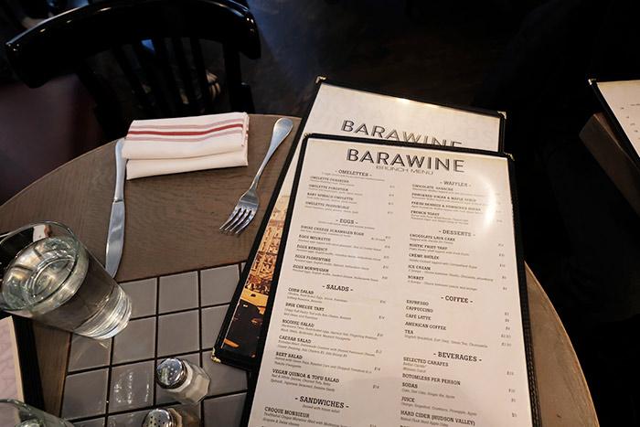 Brunch à Harlem au Barawine
