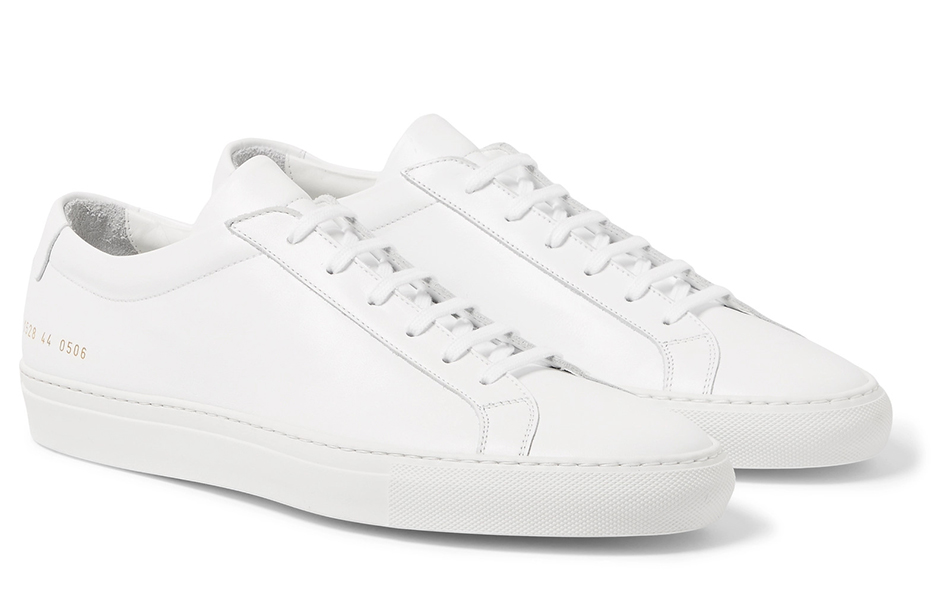COMMON PROJECTS Original Achilles Sneakers en cuir