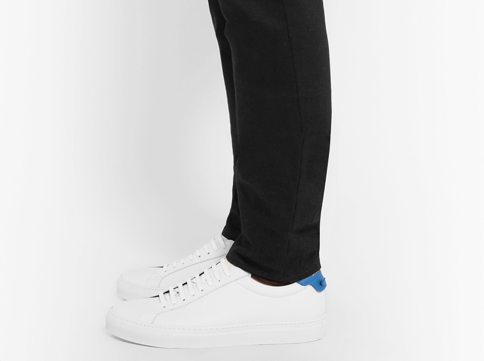 GIVENCHY Urban Street Sneakers cuir