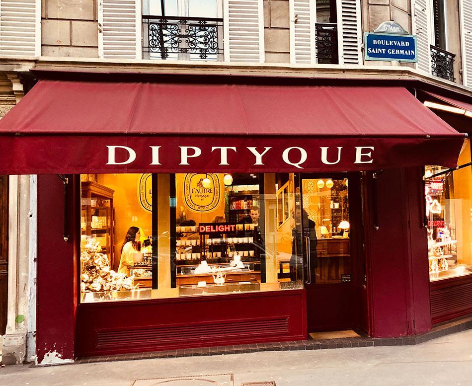 boutique diptyque 34 bd st germain