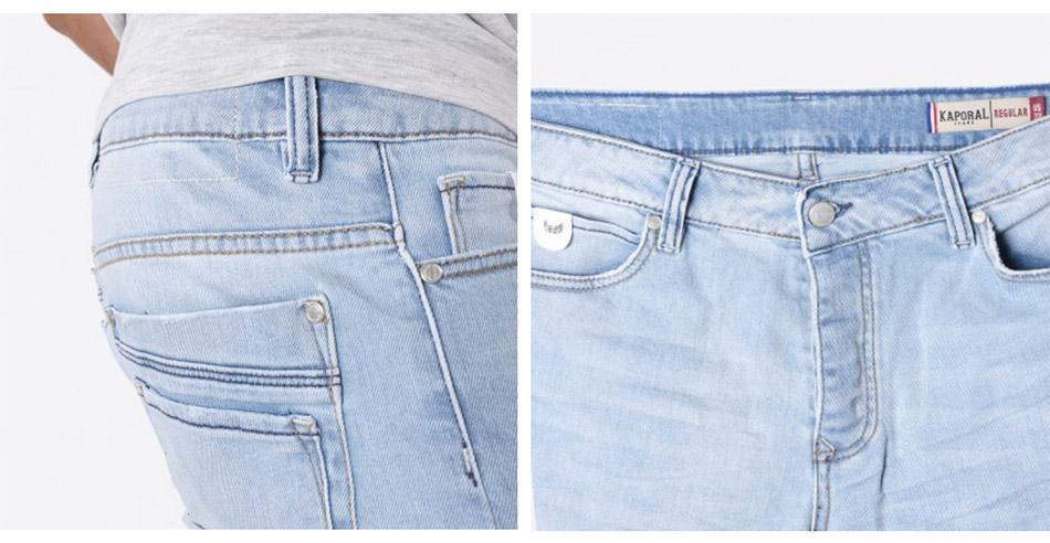 short homme en jean