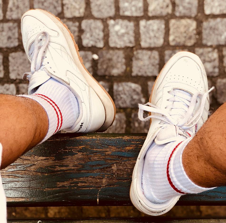 Quelles chaussettes porter avec ses baskets