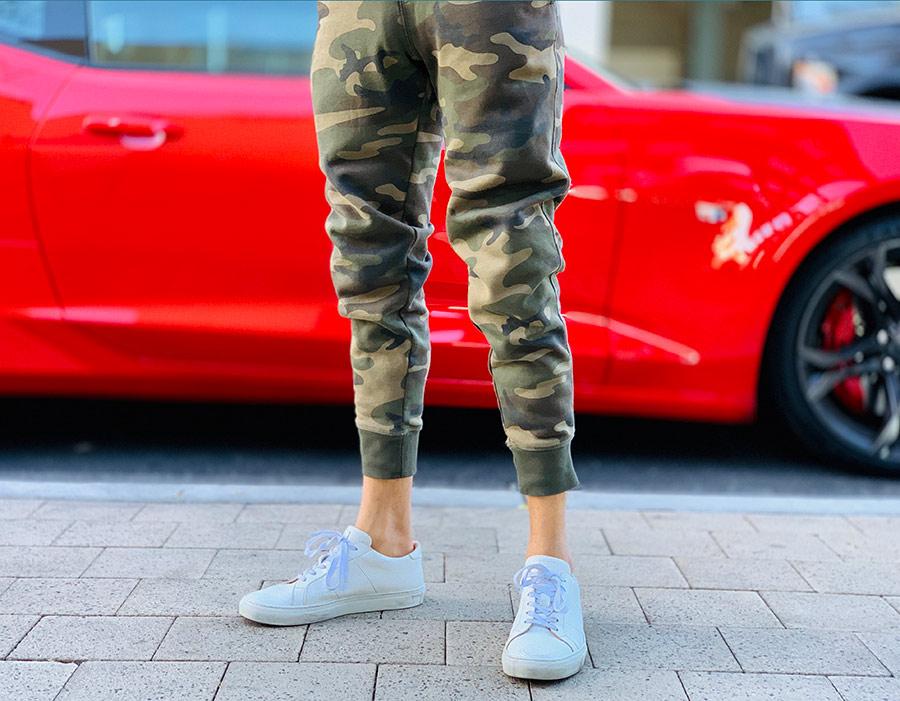 pantalon joggin homme militaire