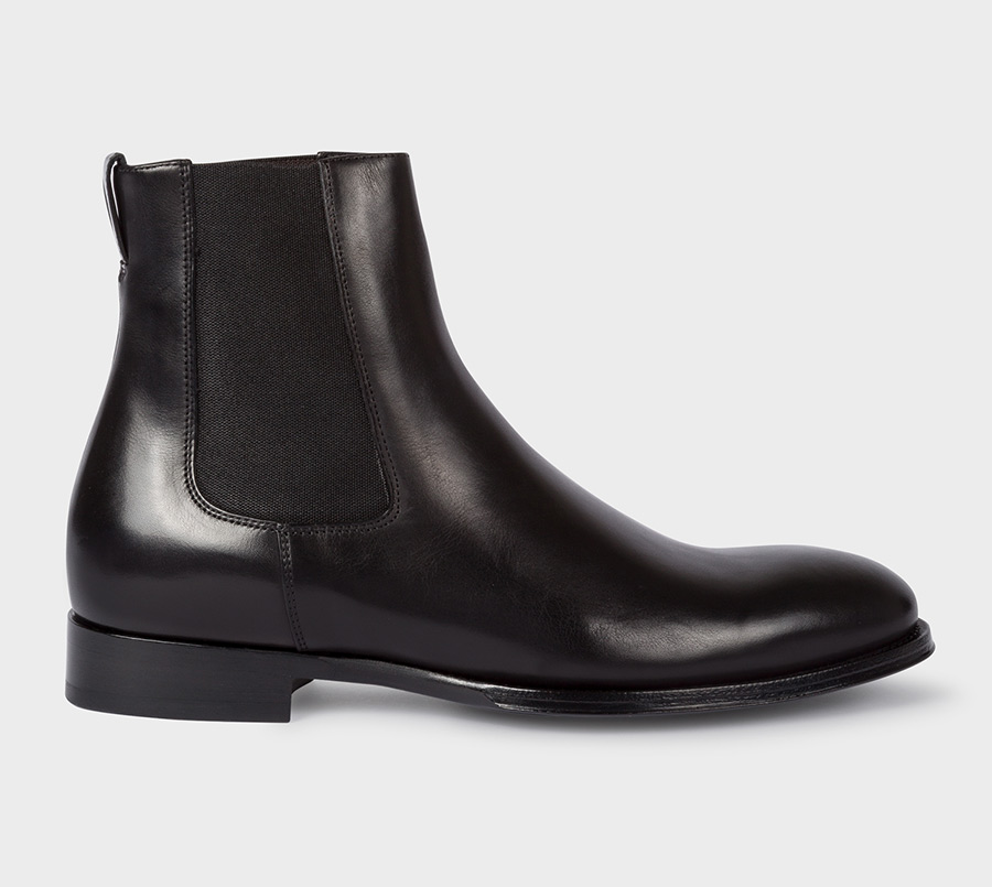 Paul smith Bottines Chelsea Homme 'Joyce' Noires En Cuir