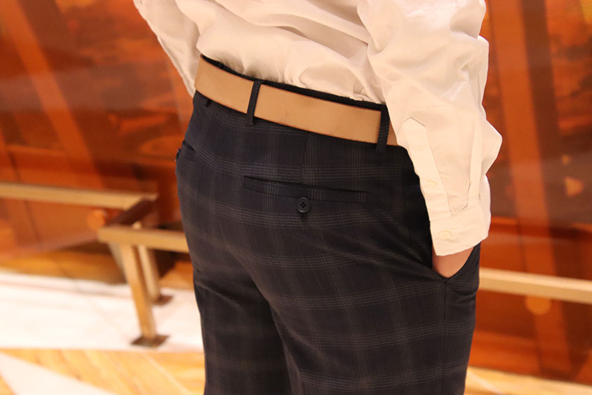 pantalon de costume skinny