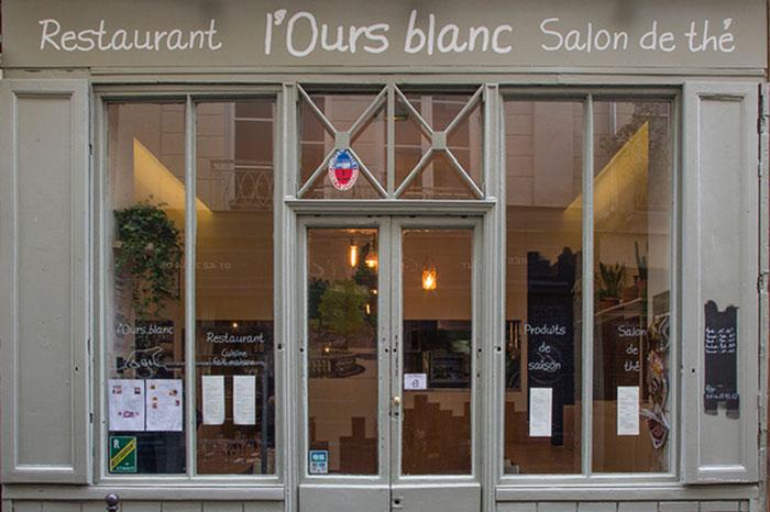Restaurant Ours blanc du Marais