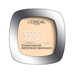 L'Oréal Paris Make Up Designer - Accord Parfait Fond de Teint Poudre 1.r Ivoire Rosé