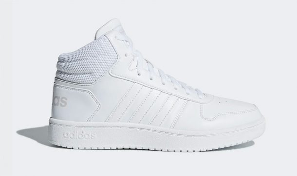 Baskets blanches montantes <a class='wpil_keyword_link' href='https://www.reead.com/fr/adidas/' target='_blank' rel='noopener'  title='Adidas' srcset=