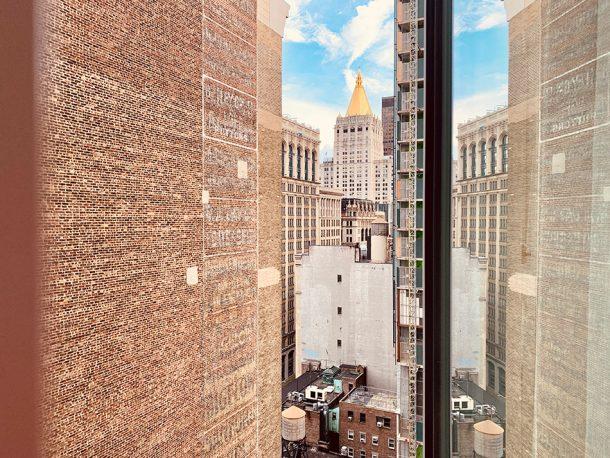 vue de la chambre arlo nomad hotel new york