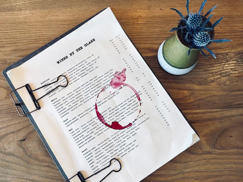 carte des vins otium los angeles