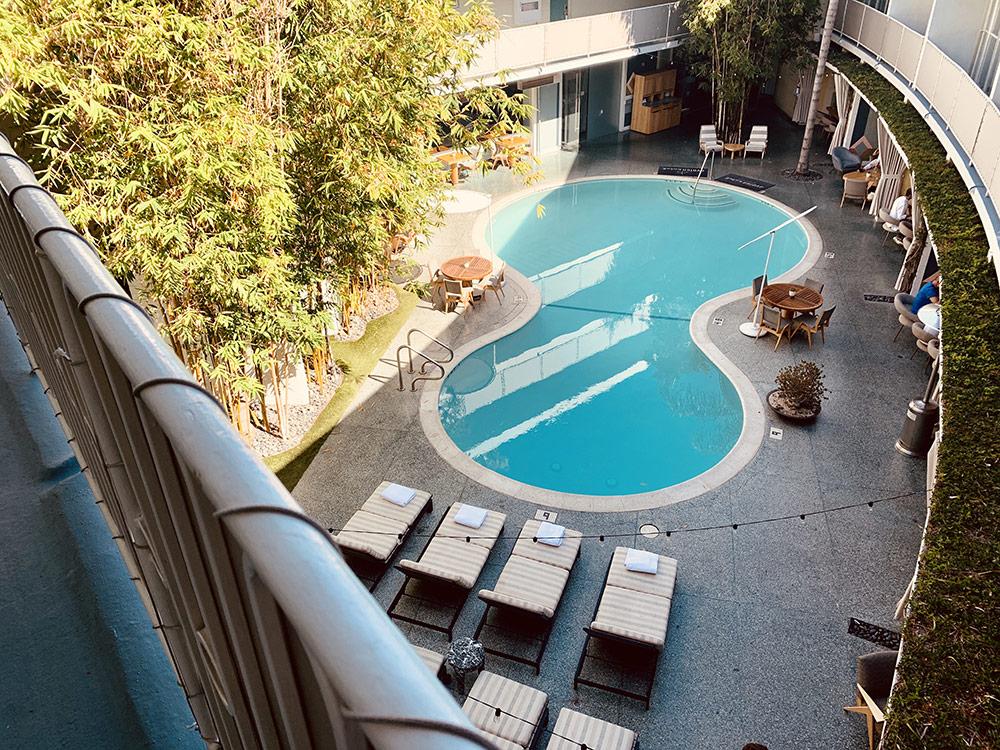 piscine hotel avalon beverly hills