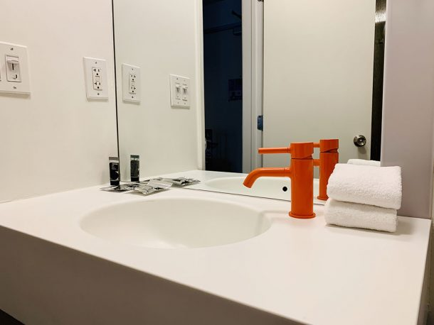 salle de bain Standard Hotel West Hollywood