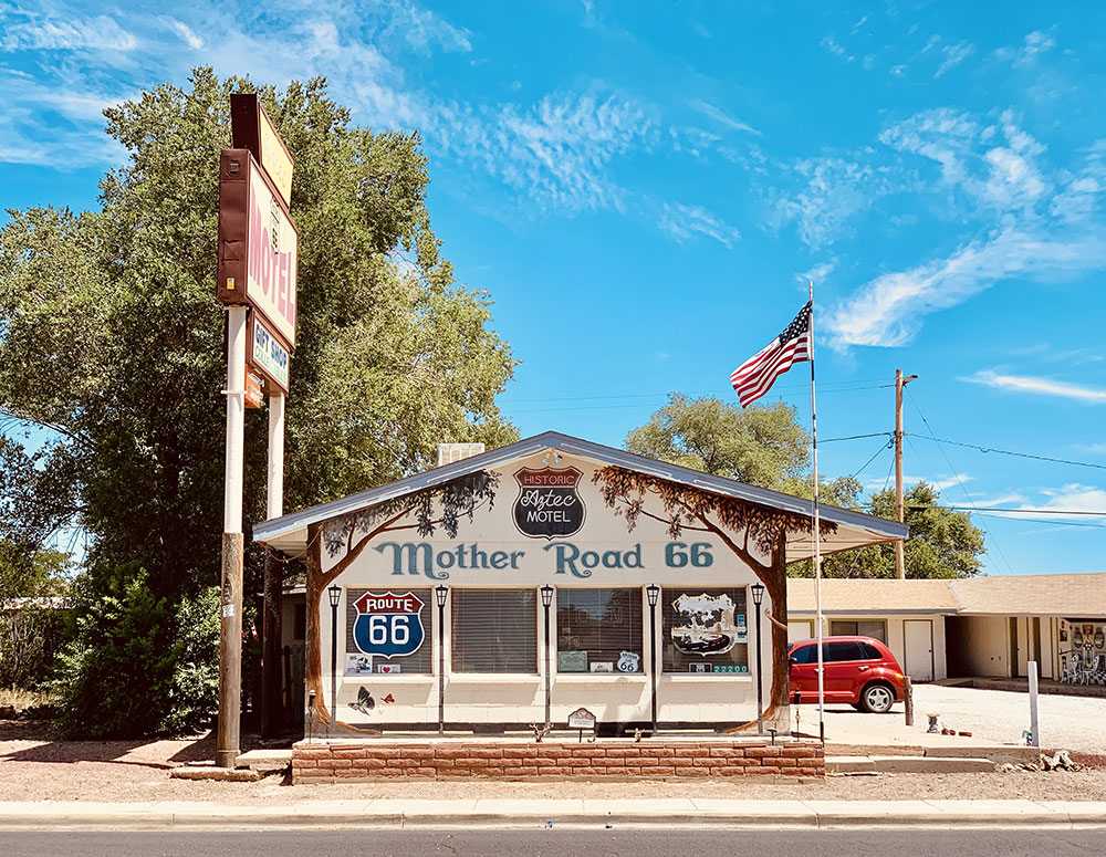 Aztec Motel & Gift Shop à Selligman