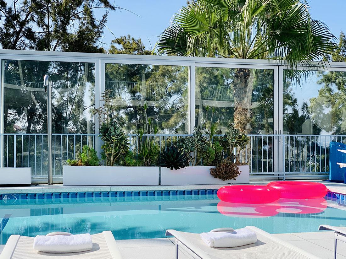 piscine standard hotel hollywood