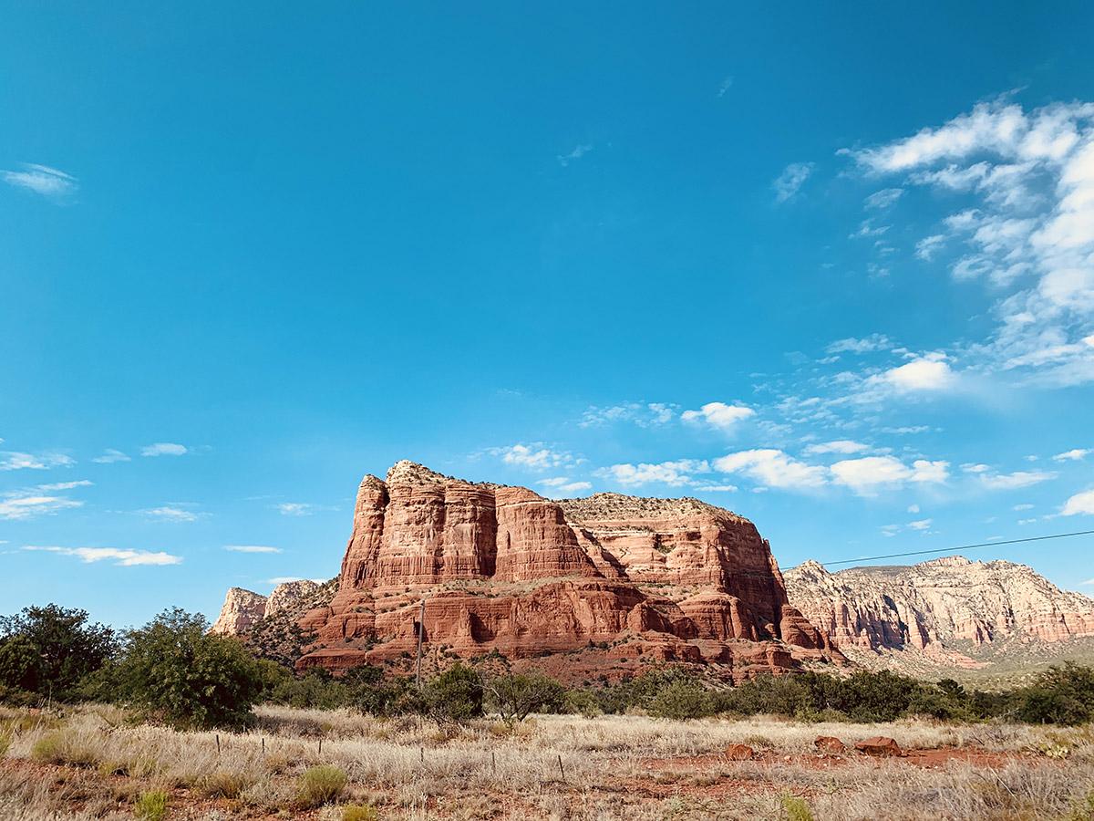 région de Sedona en Arizona