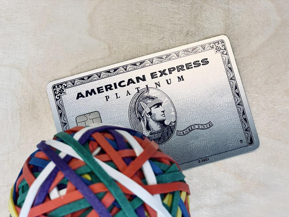 American Express Platinum Métal