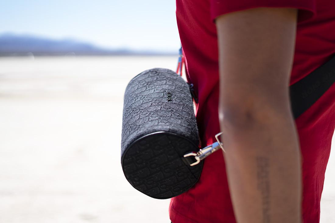 Sac Roller Oblique Dior Homme: Comment porter ce sac pour homme ?