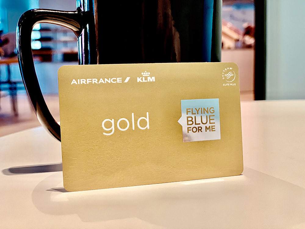 Flying Blue Gold