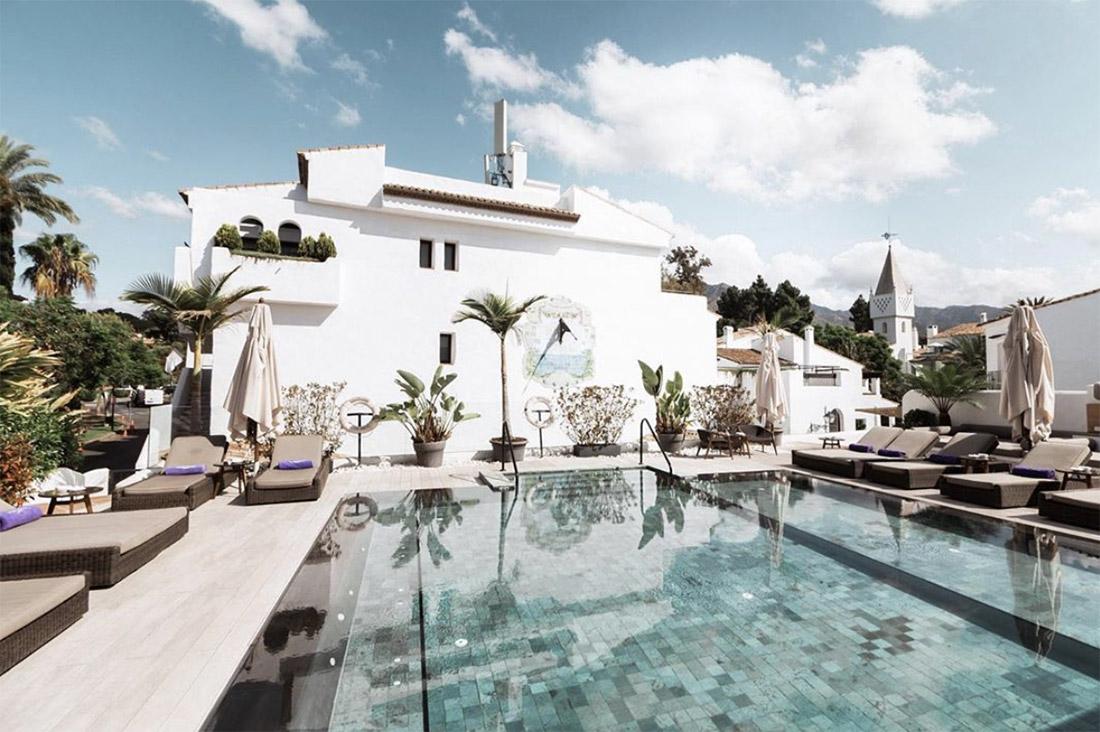 piscine du Nobu Hotel Marbella