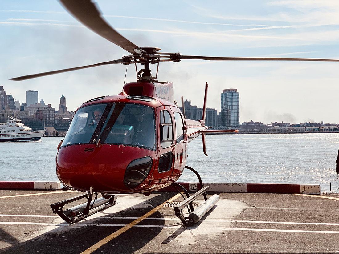 New York en hélicoptere