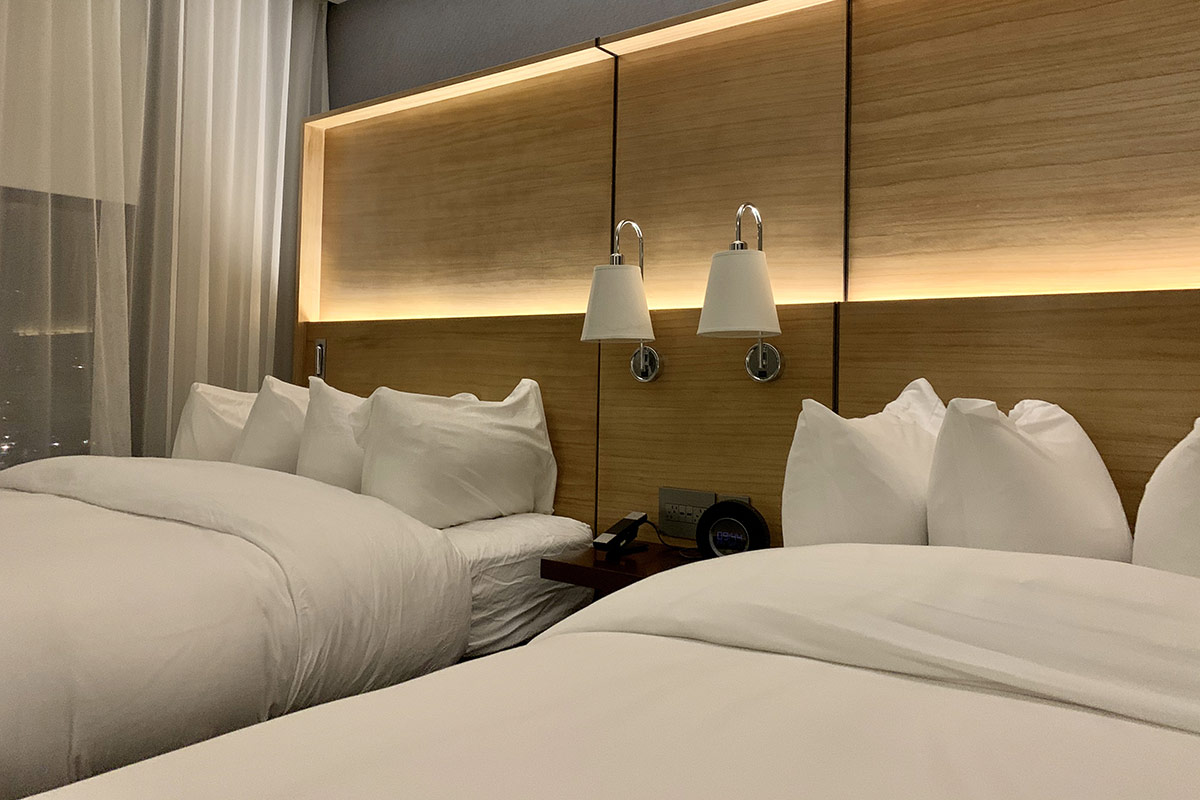 The Jacquard Hotel chambre