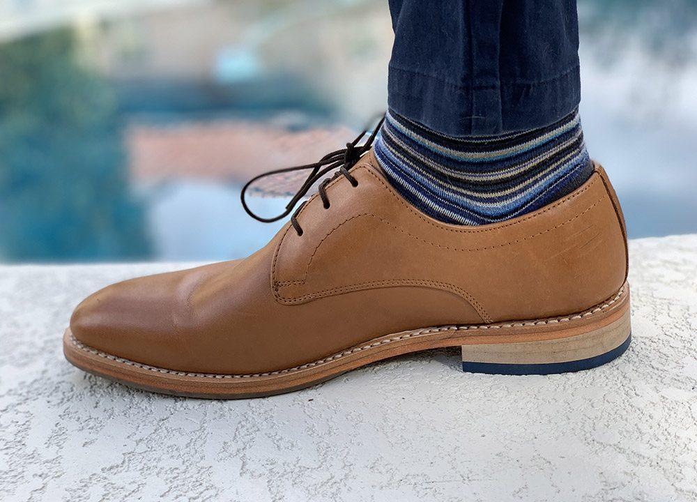 chaussettes derby
