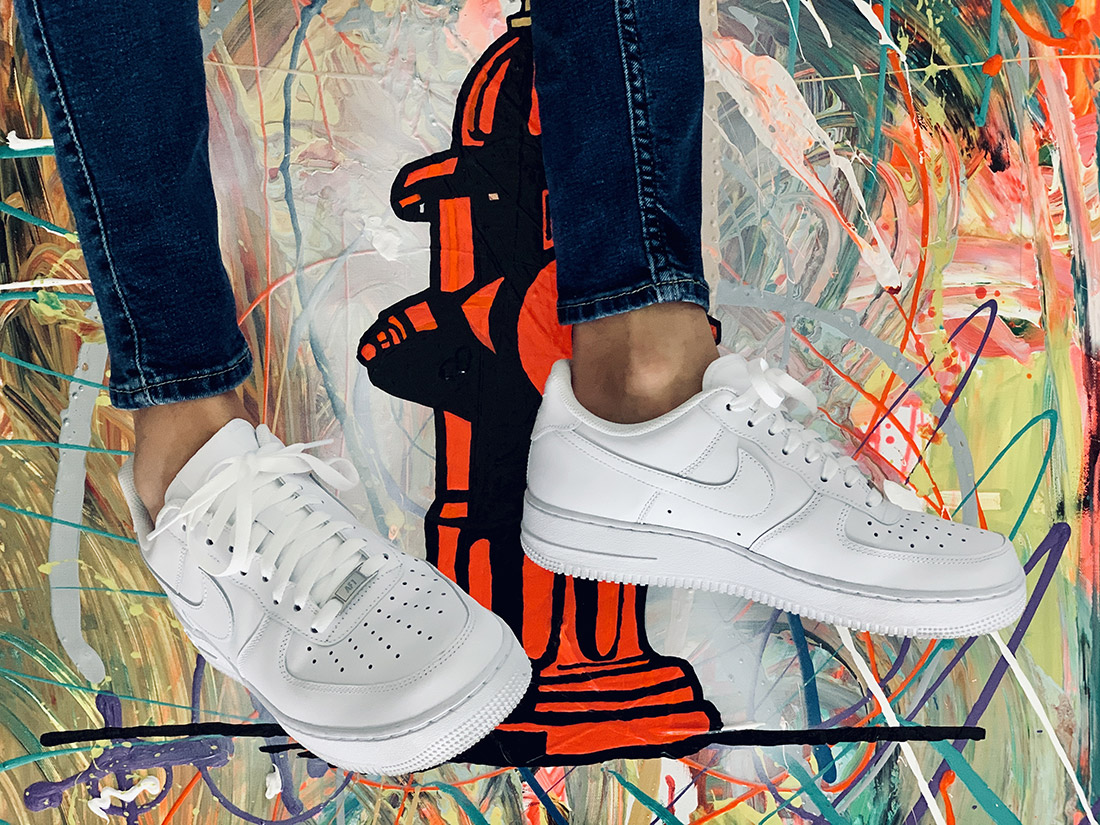 porter avec les Nike Air Force 1