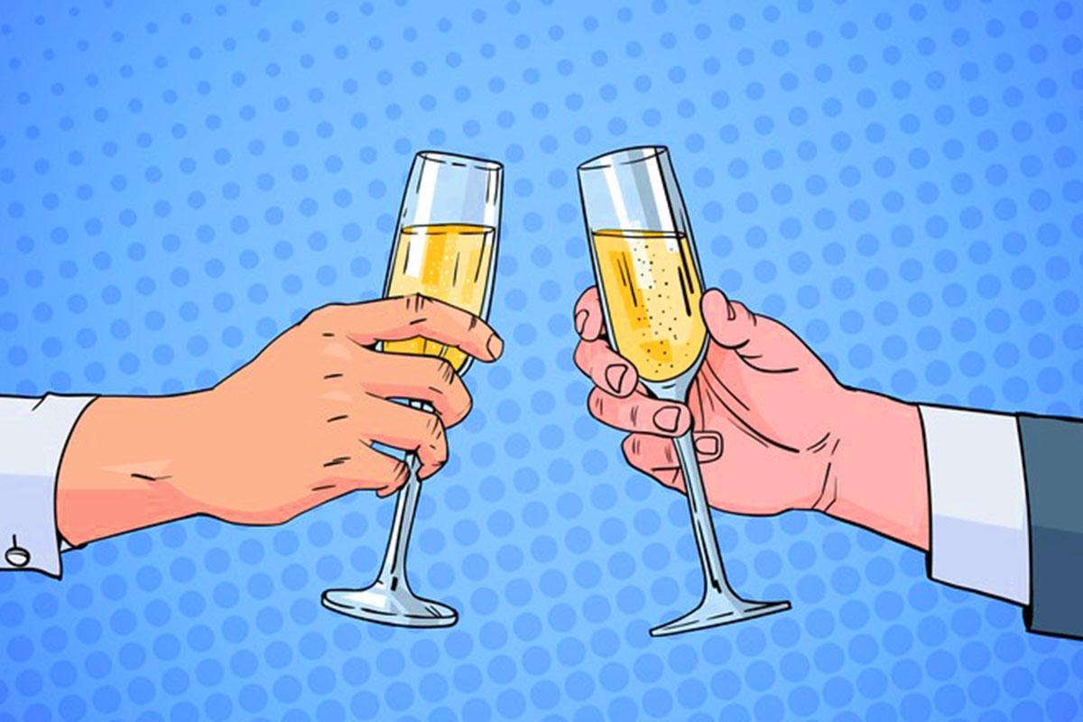 Choisir une bouteille de champagne