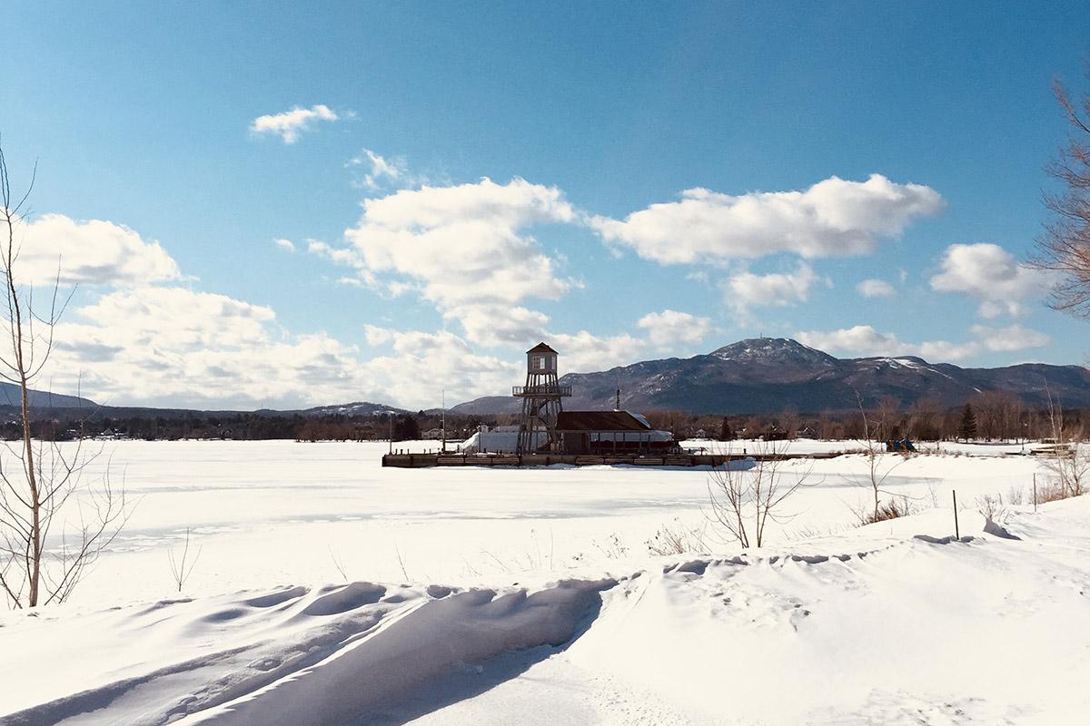 excursions à faire en dehors de Montréal en hiver